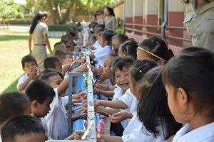Zähneputzen Grundschule Sikeud