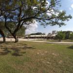 Blick über den Schulhof