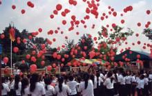 Einweihung der Grundschule Ban Sikeud