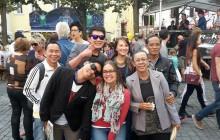 Die laotische Delegation auf dem Bürgerfest in Weiden