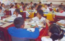 Schulbetrieb in Ban Sikeud