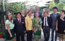 Laotische Delegation zu Besuch in Deutschland