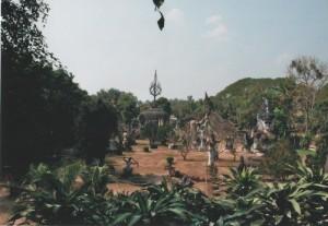 Elemente aus der hinduistischen Mythologie sind auch immer wieder im buddhistischen Laos anzutreffen