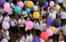 Einweihung der primary school in Ban Phang Heng