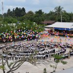 Die Einweihung der neuen Schule nach der Renovierung im November 2015