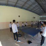Tischtennis ist eine der vielen Sportarten, die den Schülern während der Freizeit zur Verfügung stehen