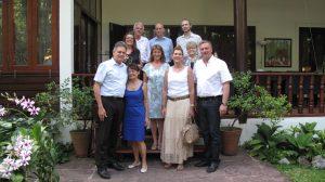 Empfang in der Residenz des deutschen Botschafters Michael Grau zur Vorstellung des Projekts
