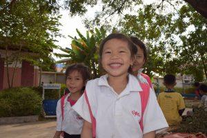 Kinder in Grundschule Phang Heng