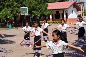 Sportgruppen in Grundschule Sikeud